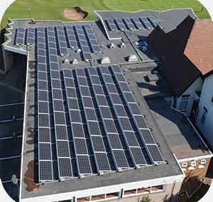 Worksop Golf Club – 3 Phase 108 Panel 28 KW Solar PV Installation