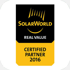 Solar World Certified Partner Logo