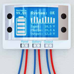 Battery Storage control panel - Energy Storage in the headlines